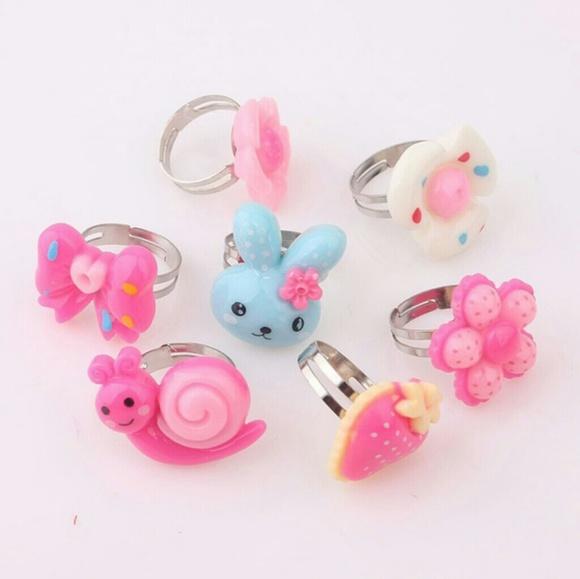 wandafish Accessories | New For Kids Cute Kids Rings | Poshmark